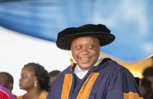 President Uhuru Kenyatta. Photo/ Courtesy