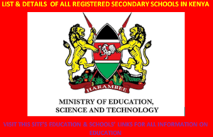 New list of all the Extra County Secondary Schools in Kenya; School Code, Type, Cluster, and Category
