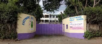 Entrance to Eastmore Secondary School in Nakuru.