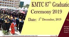 2019 KMTC graduation Ceremony; Graduation Date, Venue, Time, Fees and other information