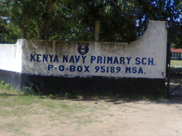 kenya navy primary school in Mombasa that produced the best 2019 KCPE candidate.