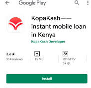 KopaKash App and loans; Instant and cheap loans