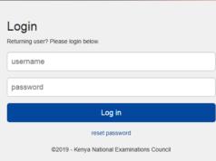 KNEC examiners login portal