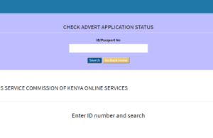 How to check application processing status of 2019 TSC internship, redeployment and promotions vacancies, online.