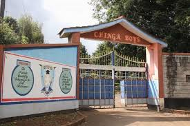 Chinga Boys High School KCSE results.