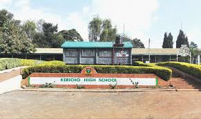 Kericho High School 2019 KCSE results analysis.