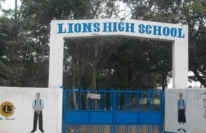 Lions High School in Kisumu County.