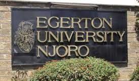 Egerton University Courses and student portals.