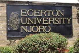 Egerton University Courses and student portals.