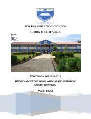 Ack Rae Girls High School all details