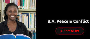 Bachelor of Arts in Peace Education course