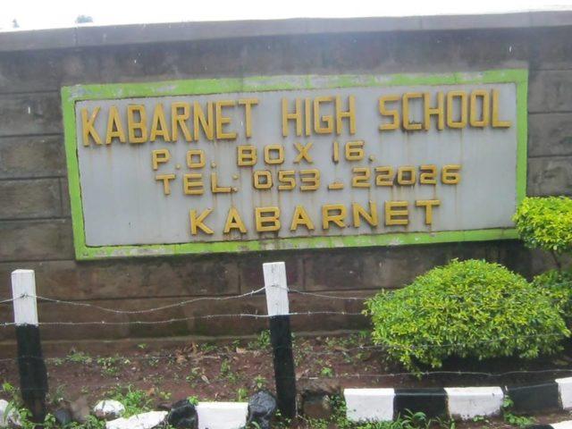 Kabarnet High School details