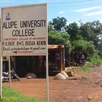 Alupe University College (AUC) student's admission letter and kuccps pdf list download.