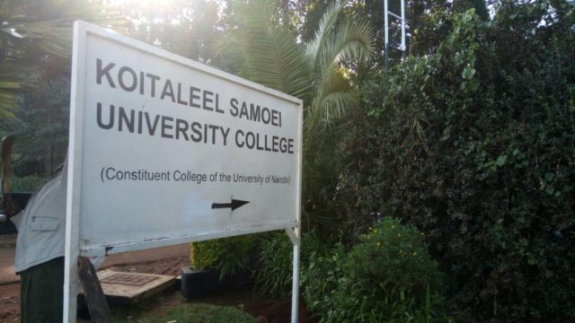 Koitalel Samoei University College (KSUC) Student's admission letter and KUCCPS pdf admission list download.