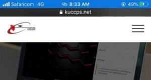 KUCCPS 2020