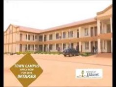 University of Eldoret (UOE) student admission letter and KUCCPS pdf list download.