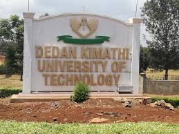 Dedan Kimathi University of Technology, DKUT, Admission Letter and KUCCPS pdf admission list download.