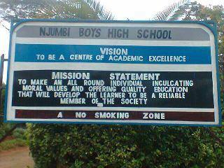 NJUMBI HIGH SCHOOL
