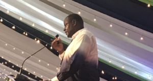 The Kenya Secondary Schools Heads Association Chairman Kahi Indimuli at a past event.