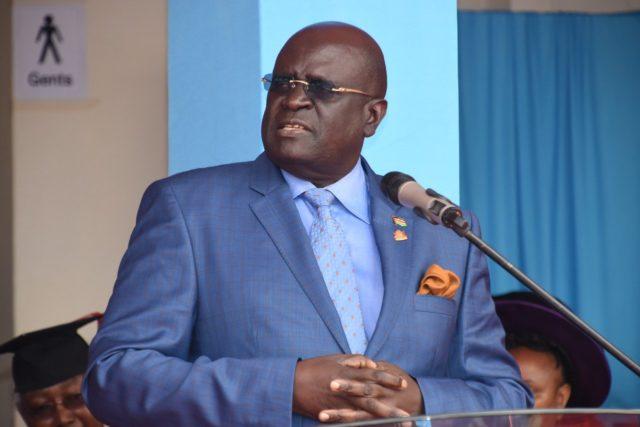 Education Cabinet Secretary Prof. George Magoha.