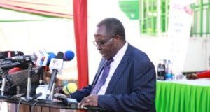 DR John Onsati who is the chairman of the Kenya National Examination Council (KNEC)