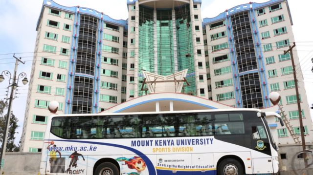 Mount Kenya University, MKU, Online Lectures and Learning platforms