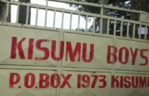 Kisumu Boys High School.