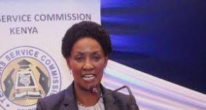 TSC Boss Dr. Nancy Macharia at a past event.