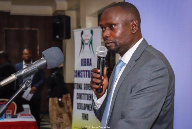 Kibra Member of Parliament Bernard Imran Okoth