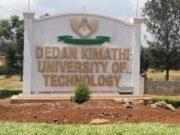 Dedan Kimathi University.