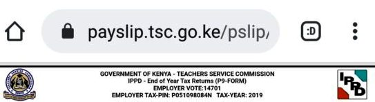 The P9 Form. TSC teachers P9 form online.