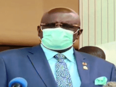 CS MAGOHA says reopening of schools will be guided by Health situation; asks parents to prepare to stay with their children longer adding the government will not rush into a decision on reopening the schools.