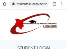The KUCCPS students portal; https://students.kuccps.net/