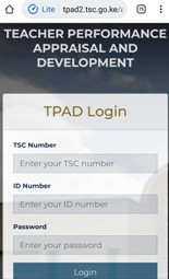 The new TPAD 2 window for creating and accessing your TPAD account for appraisals.