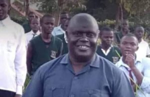 The Maurice Muholo who was the principal at Ober Boys High School. Photo/ courtesy.