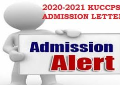 Download kuccps 2020/2021 admission letters now. See instructions.