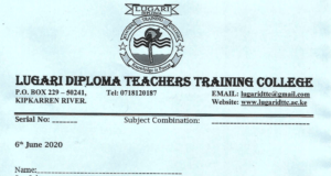 2020/2021 Diploma teachers' training colleges admissions.