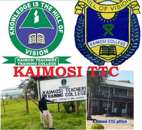 Kaimosi TTC courses, contacts, fees.