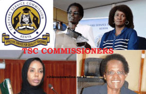 TSC Commissioners. Full list of all current Commissioners.