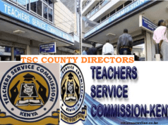 TSC offfices and contacts in all counties.