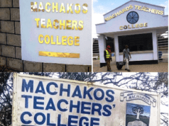 Machakos Teachers' College.