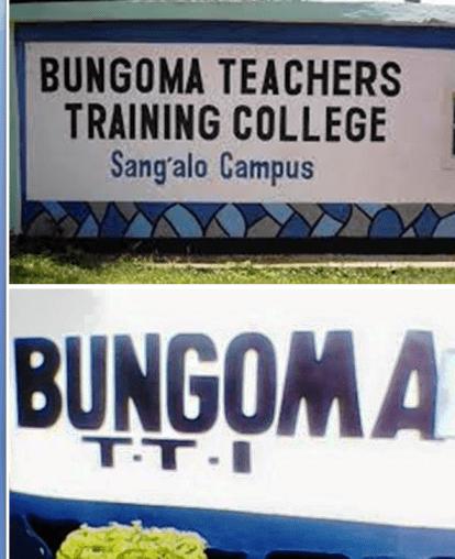 Bungoma Teachers Training College details.