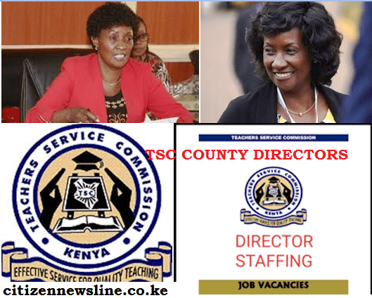 TSC County Directors in all counties.
