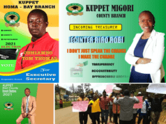 KUPPET elections 2021; Teachers in heated campaigns.