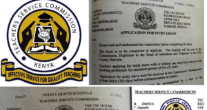 How to apply for TSC leaves; Maternity, paternity, sick leave and all other TSC Teachers' leaves.