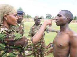 A past KDF recruitment exercise.