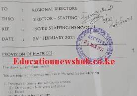 TSC teacher transfers news 2021
