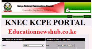 The Knec KCPE Portal for Primary Schools
