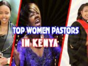 Top female preachers in Kenya.
