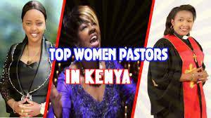Top female preachers in Kenya.